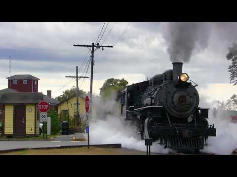 Early October Trains on the Valley Railroad, 2017