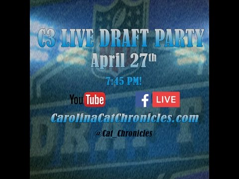 2017 Live NFL Draft Party by Carolina Cat Chronicles