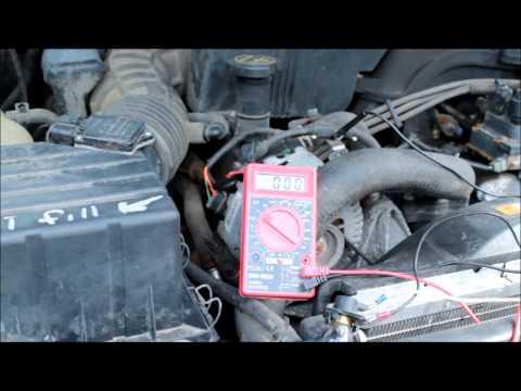 ford, mercury alternator broken wire problem, alternator wiring test 2003 Crown Vic Fuse Panel