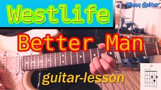 """Http://www.dizzyguitar.dein this tutorial i show you how to play westlife's new song """"better man"""" on guitarleadsheet is included at the end of videosubsc..."""