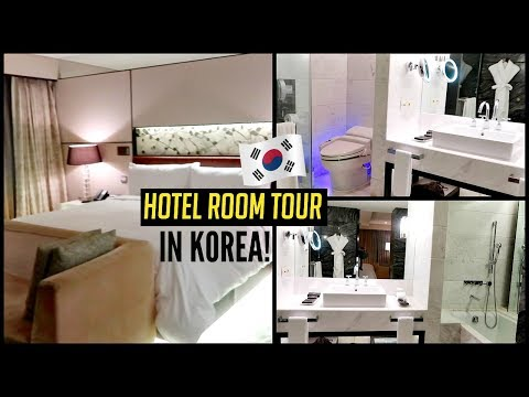 🇺🇸✈️🇰🇷First Time Flying First Class + LIT Hotel Room in KOREA!