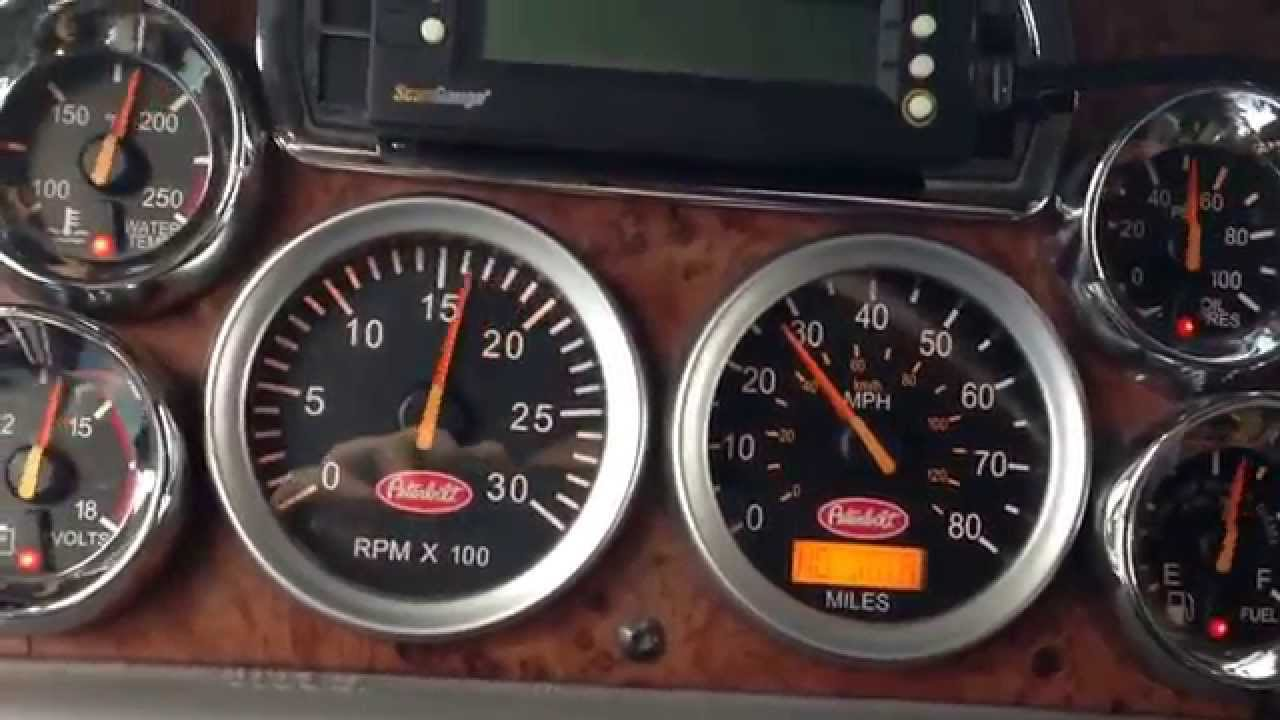 Truck won't start, gauges acting up | The Truckers Forum