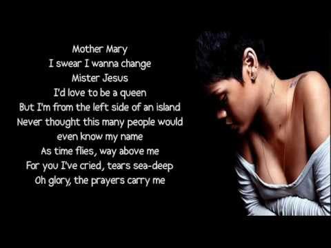 Rihanna - Love Without Tragedy / Mother Mary lyrics