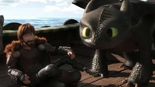 How To Train Your Dragon 3  Ending Scene :  Happy Ending & Best End Credits