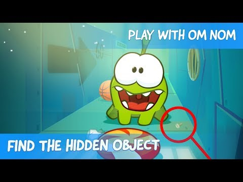 Find the Hidden Object - Om Nom Stories: Underground (Cut the Rope 2)