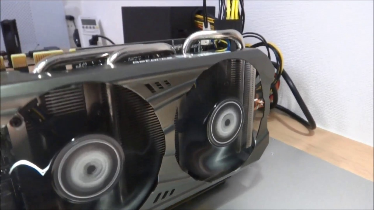 Mining Altcoin(Monacoin) with Geforce GTX 1070. (mini Mining rig)