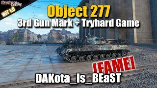 Object 277, Dakota_Is_Beast [FAME] 3rd Gun Mark + RU Tryhard game, WORLD OF TANKS