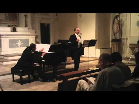The Holy Sonnets of John Donne - Britten. Mark Milhofer (tenor) Filippo Farinelli (piano)