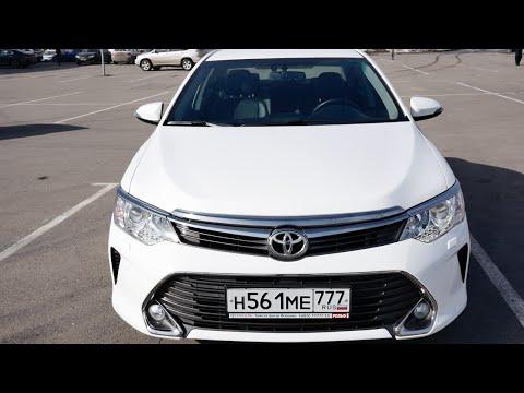Тест драйв Toyota Camry 2016 2.5 181 л.с. - Интерьер, экстерьер, цены