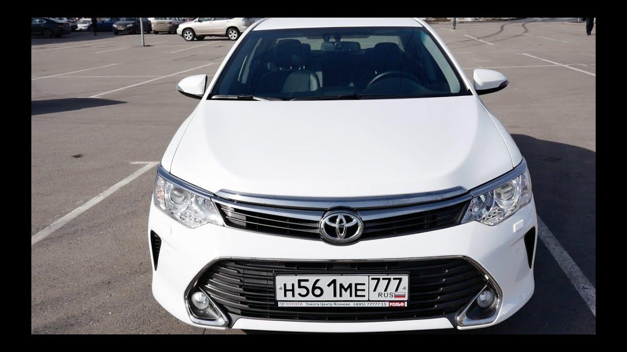 Как угоняют Toyota Camry в Москве ? - YouTube