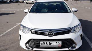 Тест драйв Toyota Camry 2016 2.5 181 л.с. Интерьер, экстерьер, цены