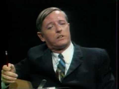 Noam Chomsky vs. William F. Buckley Debate :  Part 1 of 2