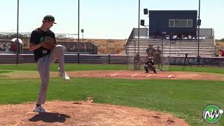 Jared McAlvey - PEC - RHP - Walla Walla HS (WA) - July 9, 2018