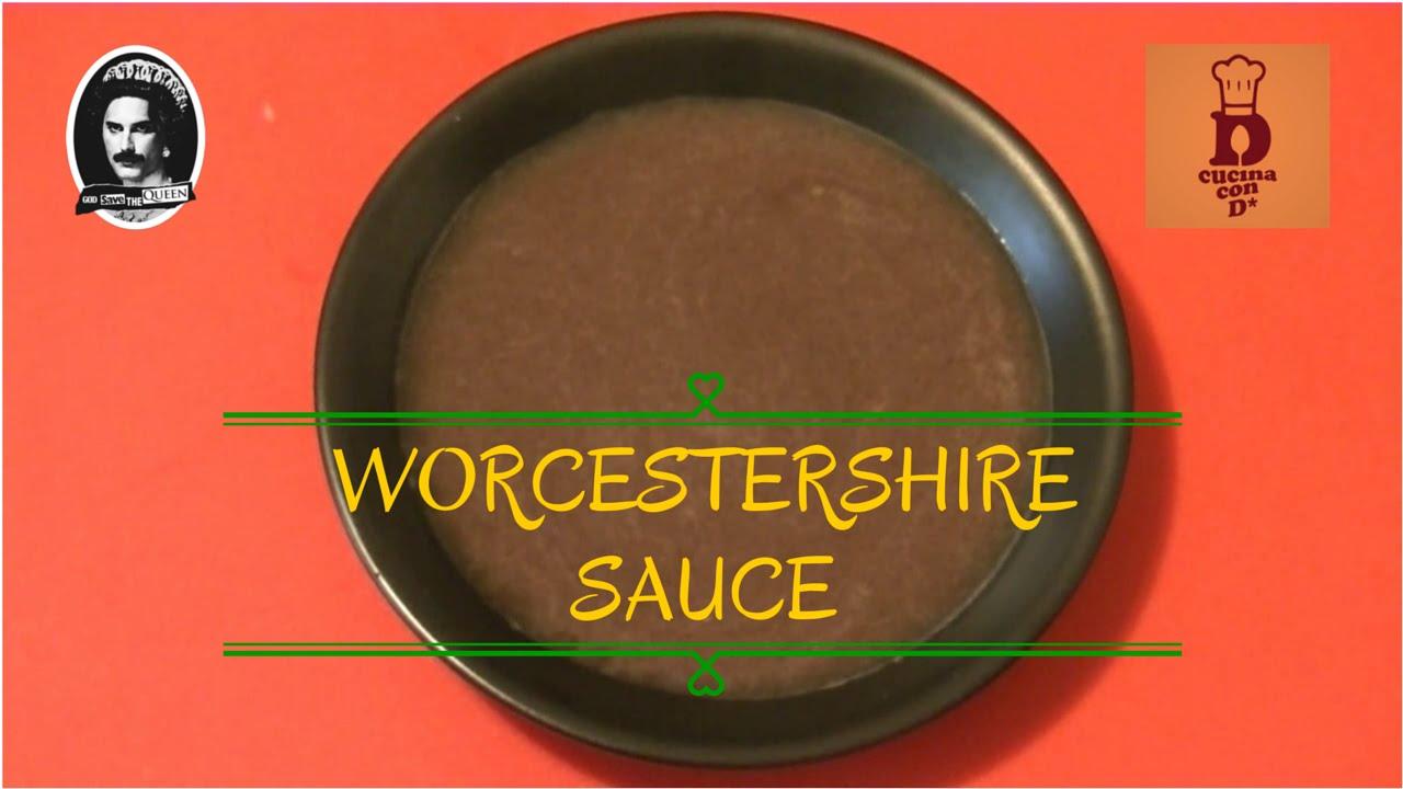 worcestershire sauce in cucina