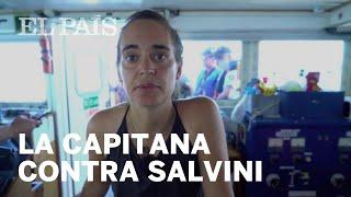 Carola Rackete: la CAPITANA que desafía a SALVINI