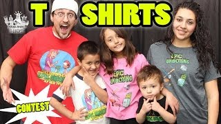 Skylander Family T-Shirts! (Epic Unboxing) Overview + Promo Code  + Contest (Boys Girls Men Women)