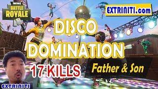 Fortnite Father & Son Disco Domination Most Kills Contest (17 KILLS)