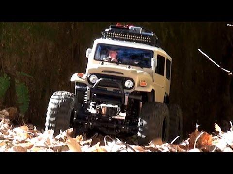 TAMIYA CR-01 LAND CRUISER 40 MOUNTAIN CRAWLING : CUSTOM SHORT WHEEL BASE
