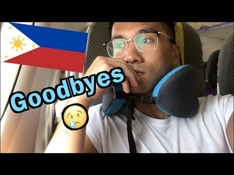 GOODBYE PHILIPPINES... AND I THANK YOU!