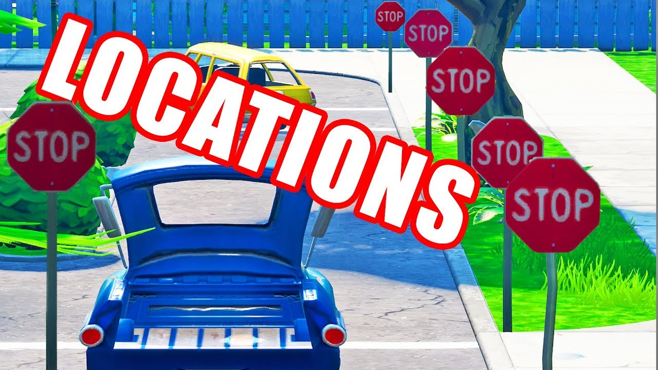 Locations - Destroy Stop Signs With The Catalyst Outfit ...