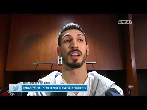 Enes Kanter Gives His Take After Coming Off the Bench | New York Knicks | MSG Networks