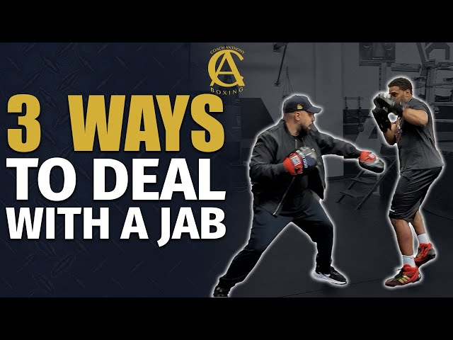 How to Deal with the Number One punch in Boxing ! [ The Jab  ]