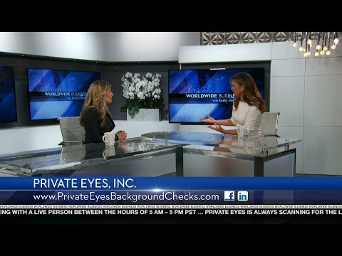 Private Eyes, Inc. featured on Worldwide Business with kathy ireland®