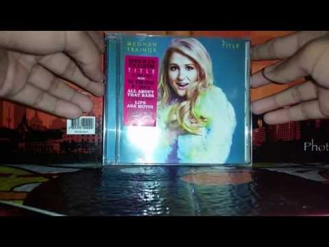 Meghan Trainor Title Deluxe Edition Unboxing