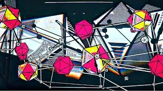 Psychedelic 3D Visuals Psychill Progressive Music Mix NEW 2015