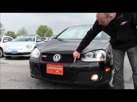 2008 VW GTI at Volkswagen Waterloo with Robert Vagacs