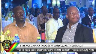 6th AGI Ghana Industry & Quality Awards Night