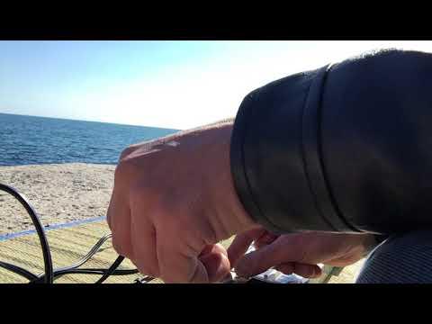 Live Beach Sessions Barcelona -- 18-02-2018 (Korg Volca & Roland Cube)