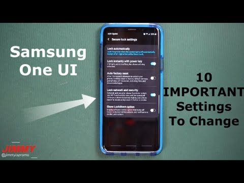Official Samsung One UI - 10 IMPORTANT Settings To Change