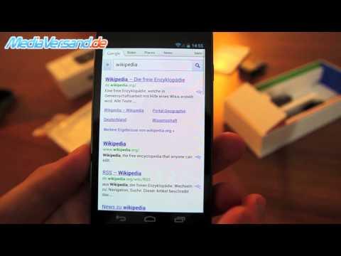 Samsung Galaxy Nexus I9250 Einblick