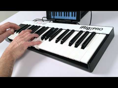 iRig KEYS PRO Overview - The full-sized-key universal mobile keyboard for iPhone, iPad, Mac/PC