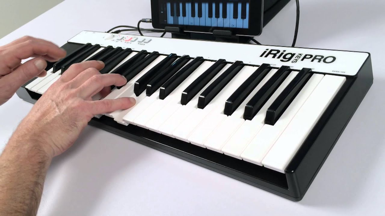 irig keys pro overview the full sized key universal mobile keyboard for iphone ipad mac pc. Black Bedroom Furniture Sets. Home Design Ideas
