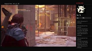 The Division, Part Twenty Three, PS4 Live Broadcast, No Commentary, Walkthrough
