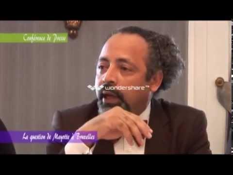 Conférence de presse la question de Mayotte à Bruxelles