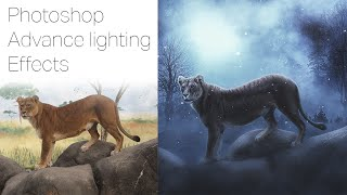 Download Video Photoshop Manipulation Tutorial with Photo Effects Lion MP3 3GP MP4