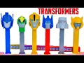 Download TRANSFORMERS ROBOTS IN DISGUISE PEZ DISPENSERS OPTIMUS BUMBLEBEE MEGATRON GRIMLOCK