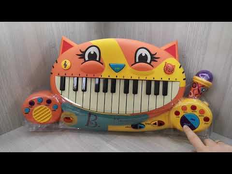 Лучший детский синтезатор с микрофоном BATAT. Стоит ли покупать игрушечное пианино Котофон?