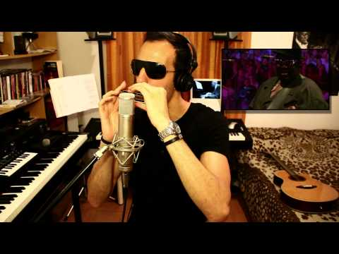 Stevie Wonder - Isn`t She Lovely --- Antonio Honor - Chromatic Harmonica Cover Gaita How To Play