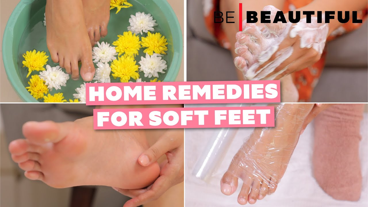 How To Get Rid Of Cracked Heels at Home | Step By Step FOOT CARE Routine for Soft Feet | BeBeautiful
