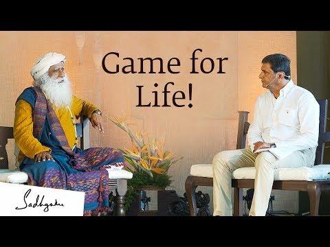 Prakash Padukone with Sadhguru - In Conversation With the Mystic