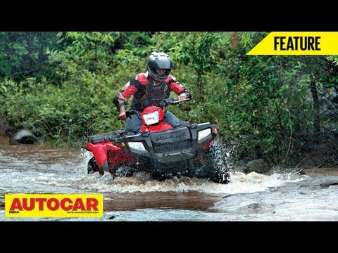 Polaris All-Terrain Vehicle at Aamby Valley | Feature | Autocar India