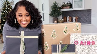 Tia Mowry's DIY Gift Wrap 3 Ways | Quick Fix