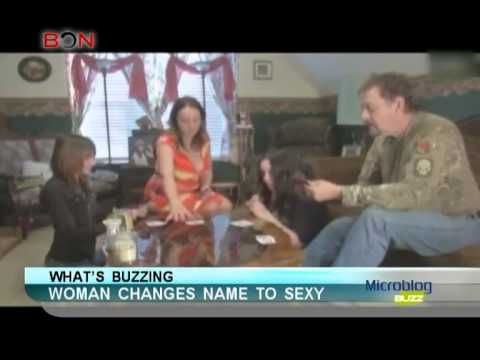 Woman changes name to sexy - Microblog Buzz - February 17,2014 - BONTV China