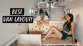 VAN LIFE BUILD: Unique Bed Design for Tiny House