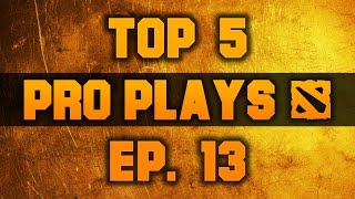 Dota 2 Top 5 Pro Plays - Ep. 13 (TI5 Qualifiers)