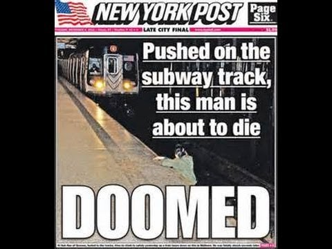 REFLECTIONS ON THE INFAMOUS NY POST SUBWAY COVER